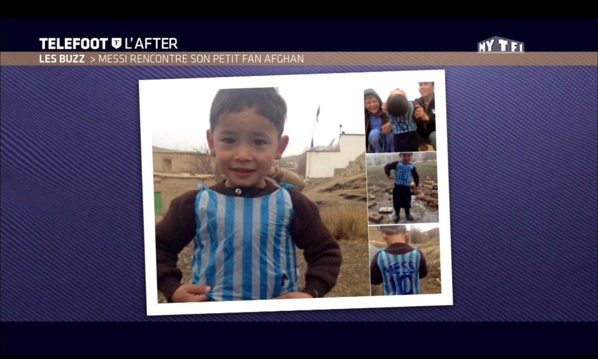 Téléfoot, l'After - Le Buzz : Messi retrouve son petit fan afghan