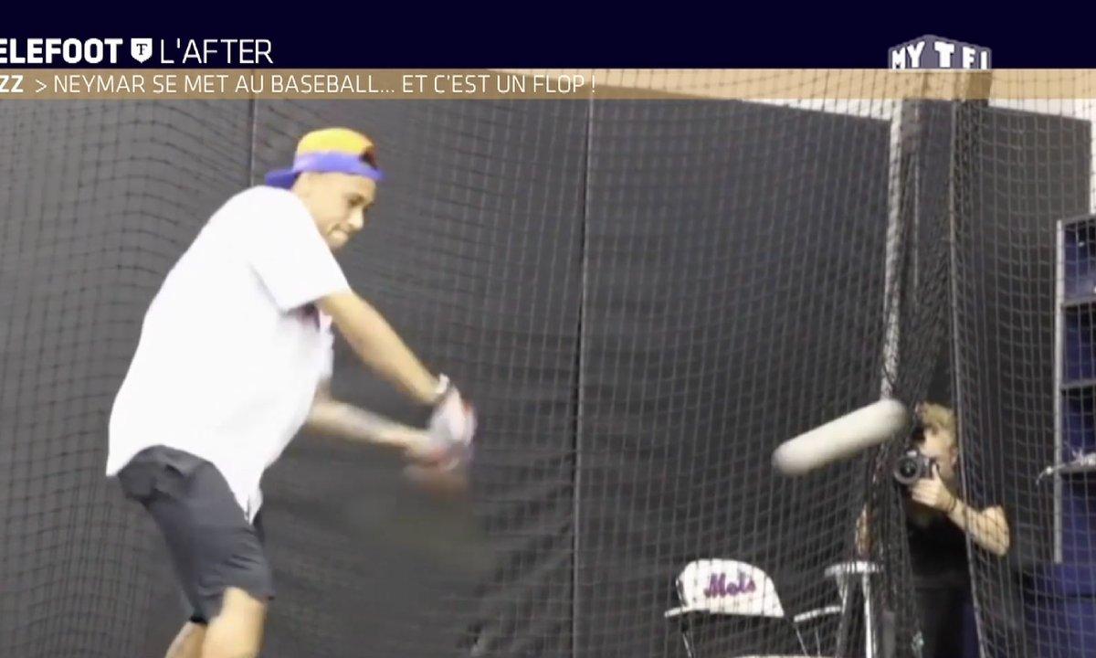 MyTELEFOOT L'After - Le Buzz : Neymar s'essaie au baseball