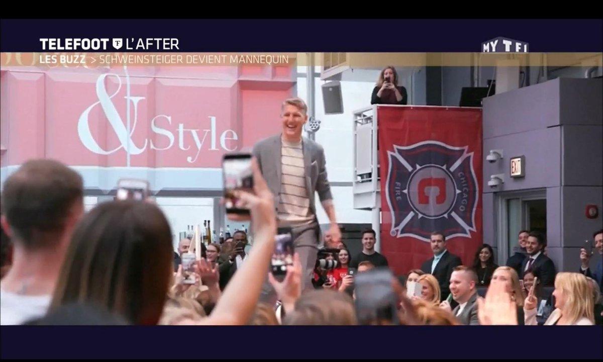 Téléfoot, l'After - Le Buzz : La nouvelle carrière de Schweinsteiger