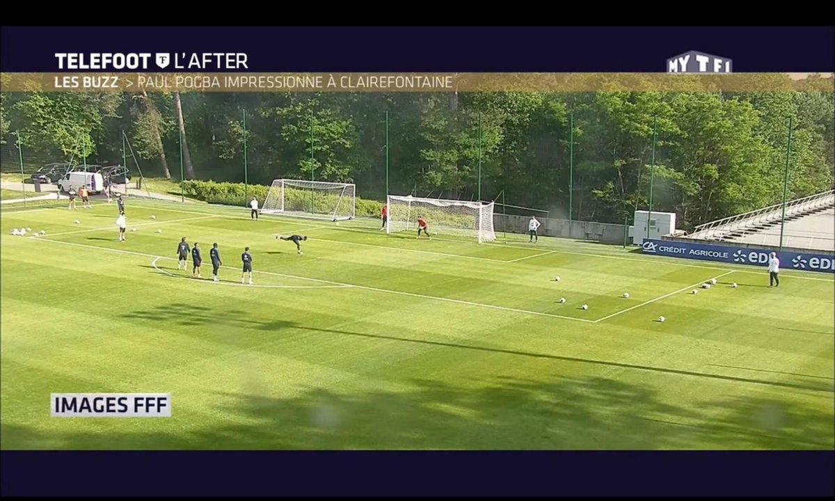 Téléfoot, l'After - Le Buzz : Paul Pogba impressionne à Clairefontaine