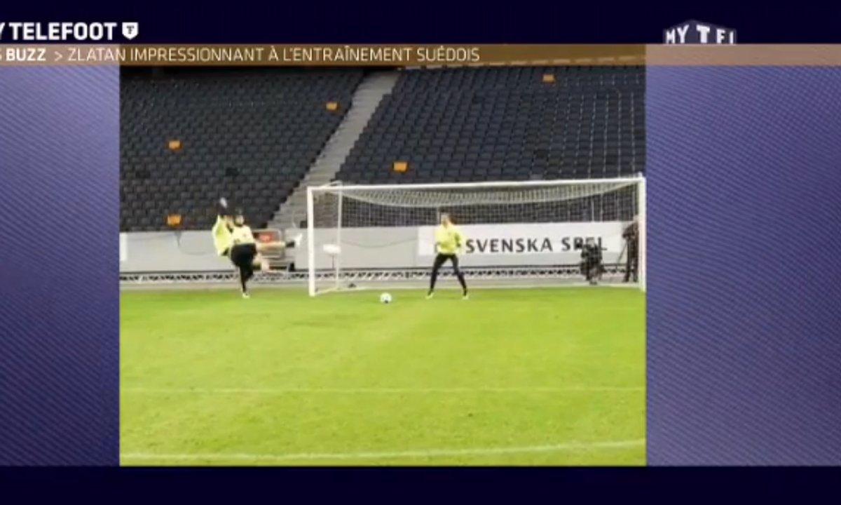 MyTELEFOOT L'After - Le Buzz : Les deux pralines de Zlatan Ibrahimovic avec la Suède