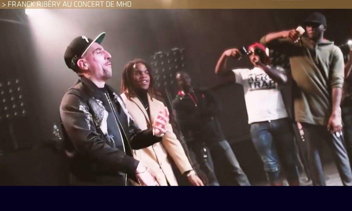 Téléfoot, l'After - Le Buzz : Ribéry au concert de MHD