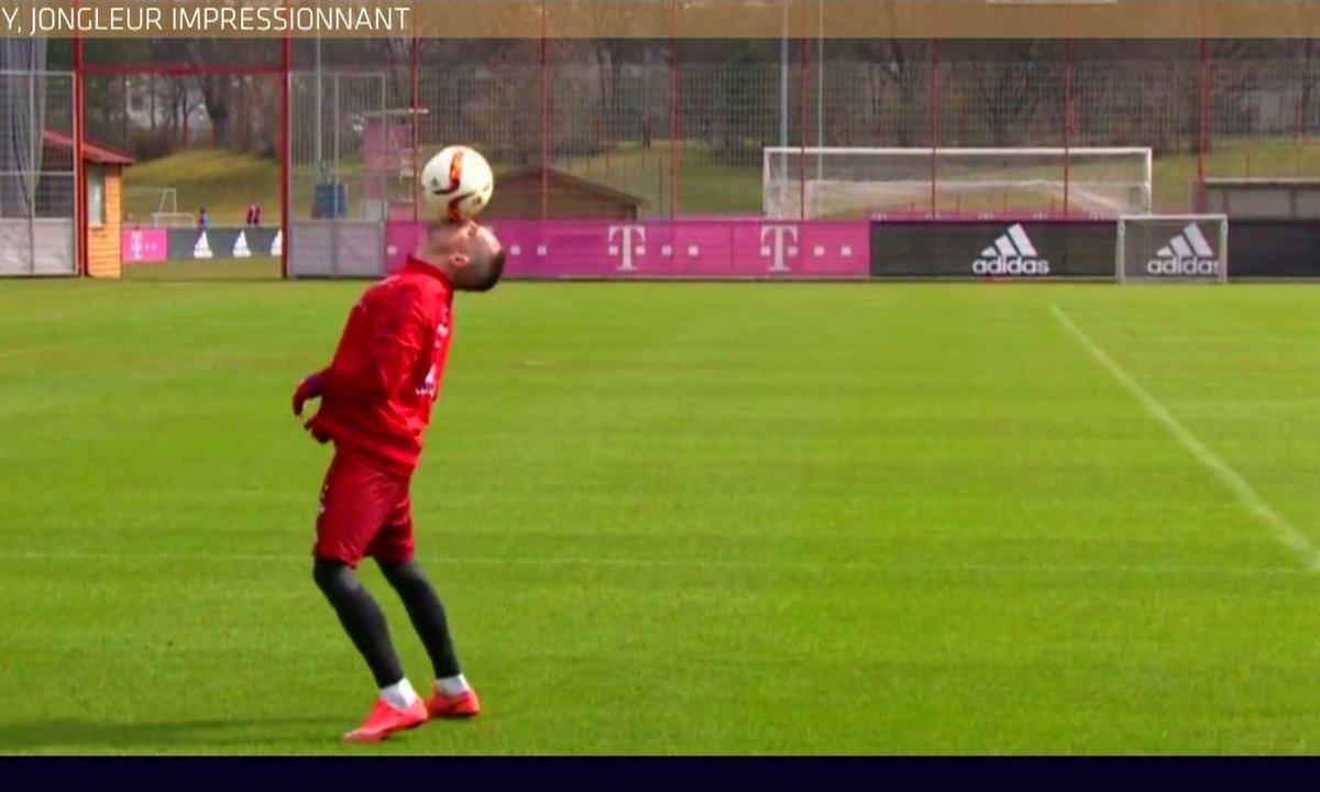 MyTELEFOOT - Le Buzz : Ribéry, jongleur impressionnant
