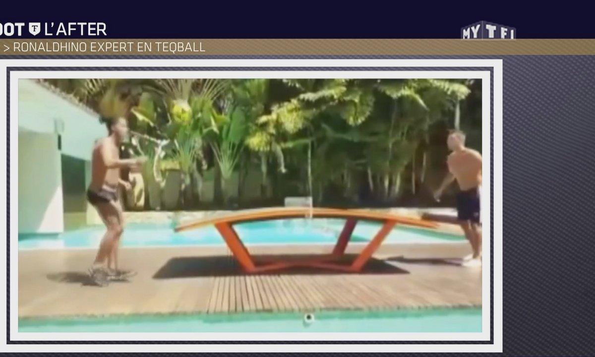 Téléfoot, l'After - Le Buzz : Ronaldinho expert en teqball