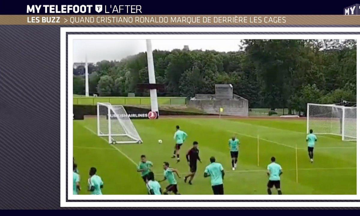 MyTELEFOOT L'After - Le Buzz : Quand Ronaldo marque de derrière les cages