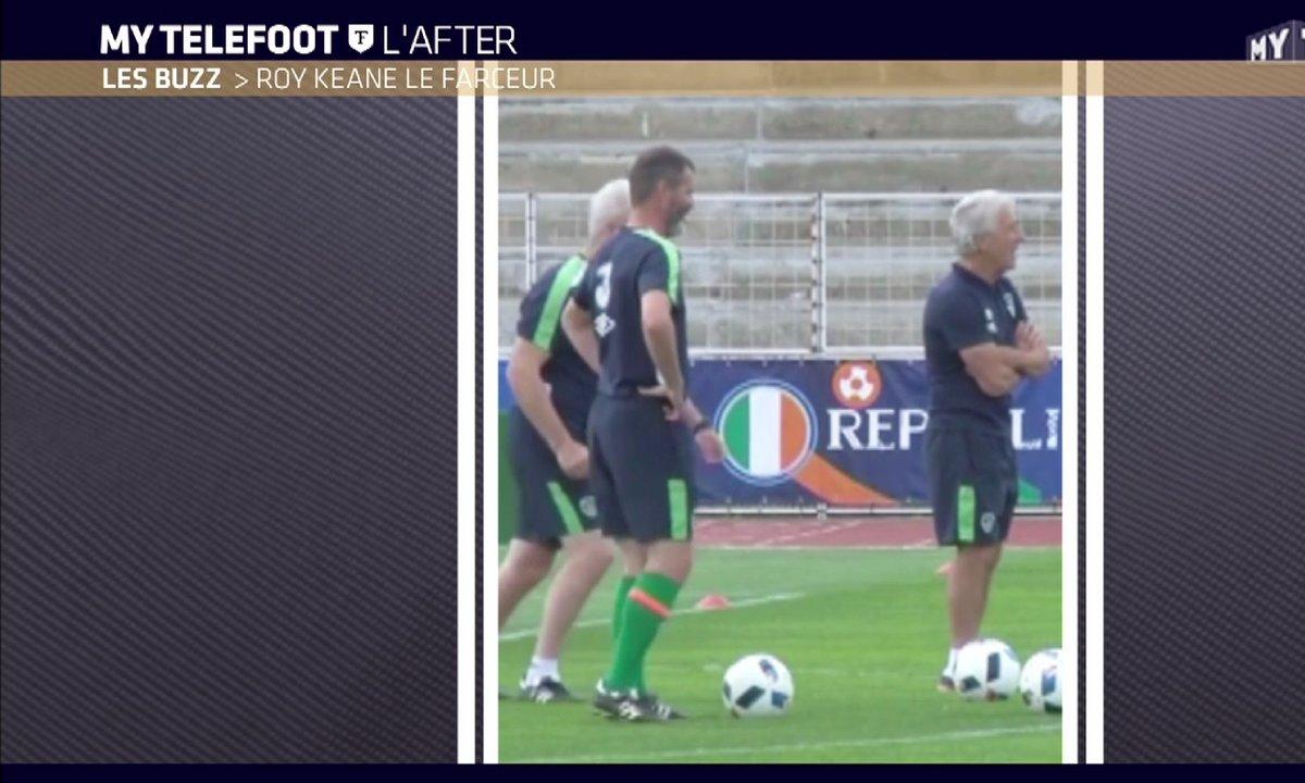 MyTELEFOOT L'After - Le Buzz : Roy Keane le farceur