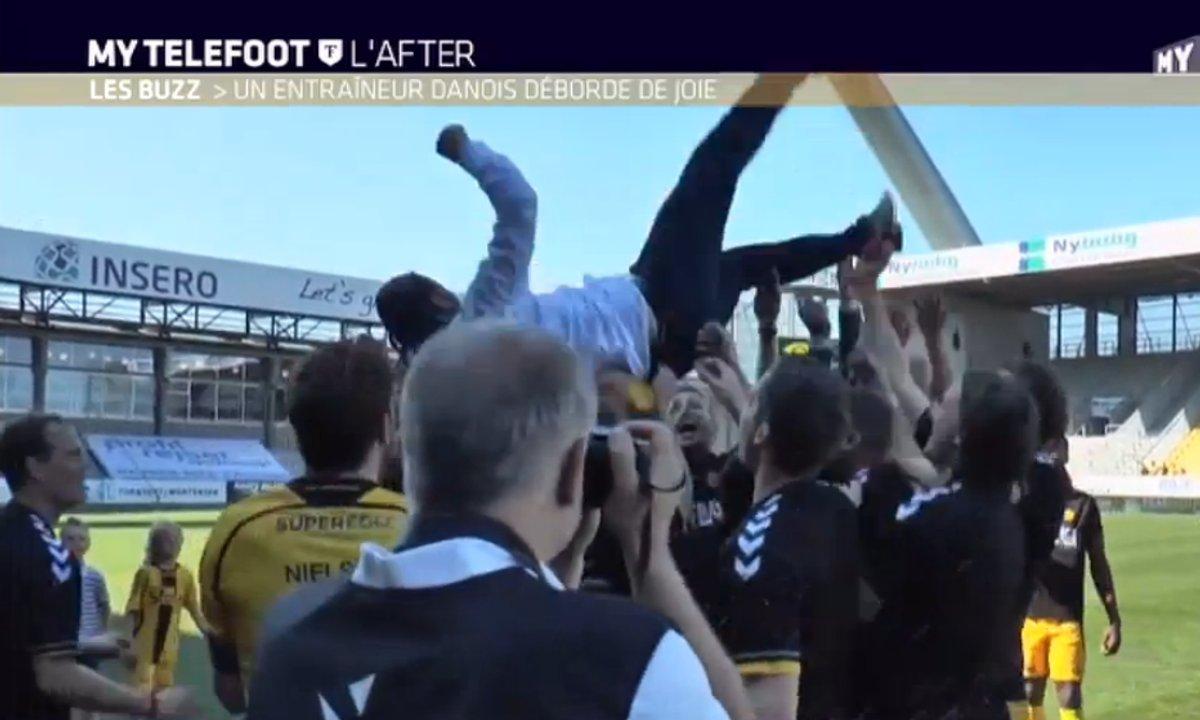 MyTELEFOOT L'After - Le Buzz : Un entraîneur fou au Danemark