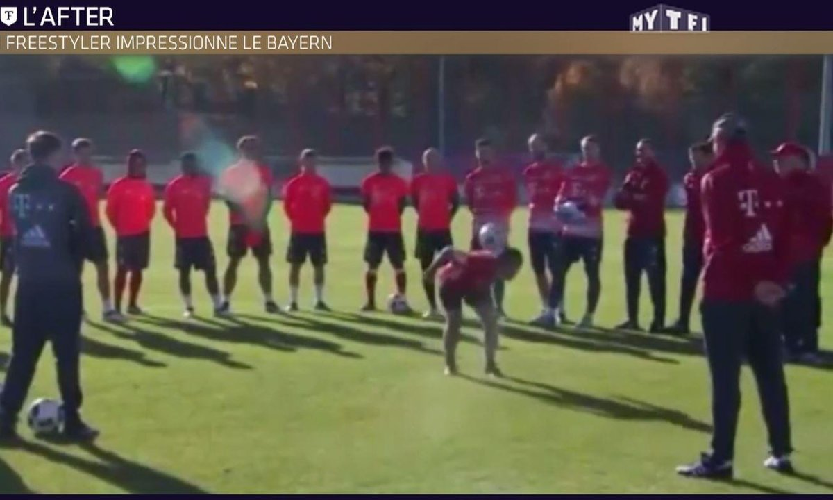 Téléfoot, l'After - Le Buzz : un freestyler impressionne le Bayern