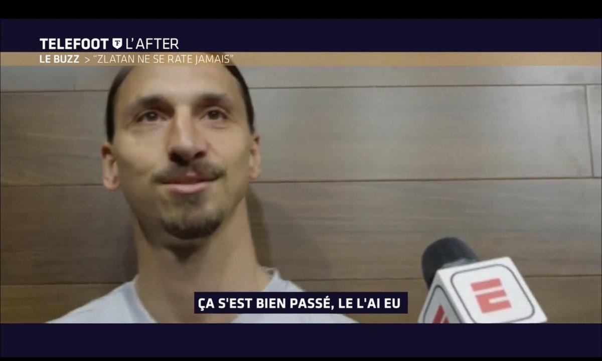 Téléfoot, l'After - Le Buzz : Zlatan Ibrahimovic ne se rate jamais
