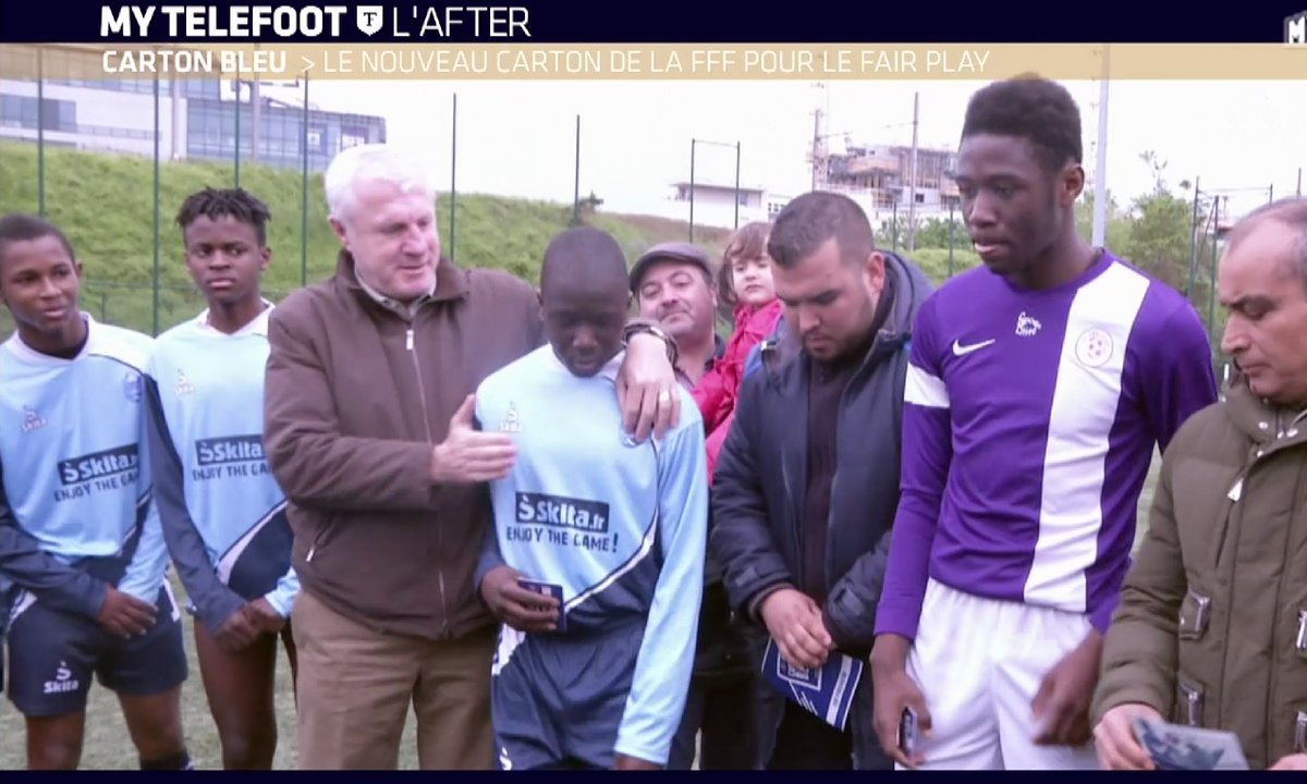 MyTELEFOOT L'After - Carton Bleu : la récompense du fairplay