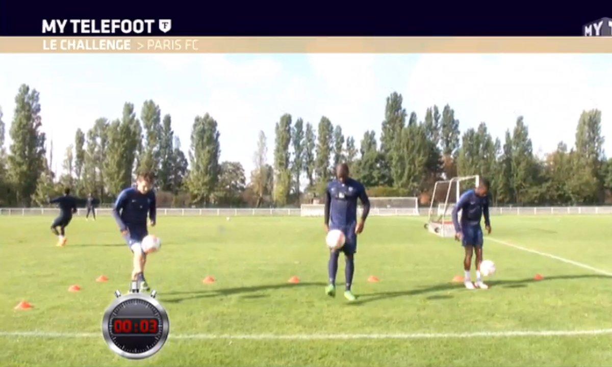 MyTELEFOOT - Challenge : Les joueurs du Paris FC au défi !