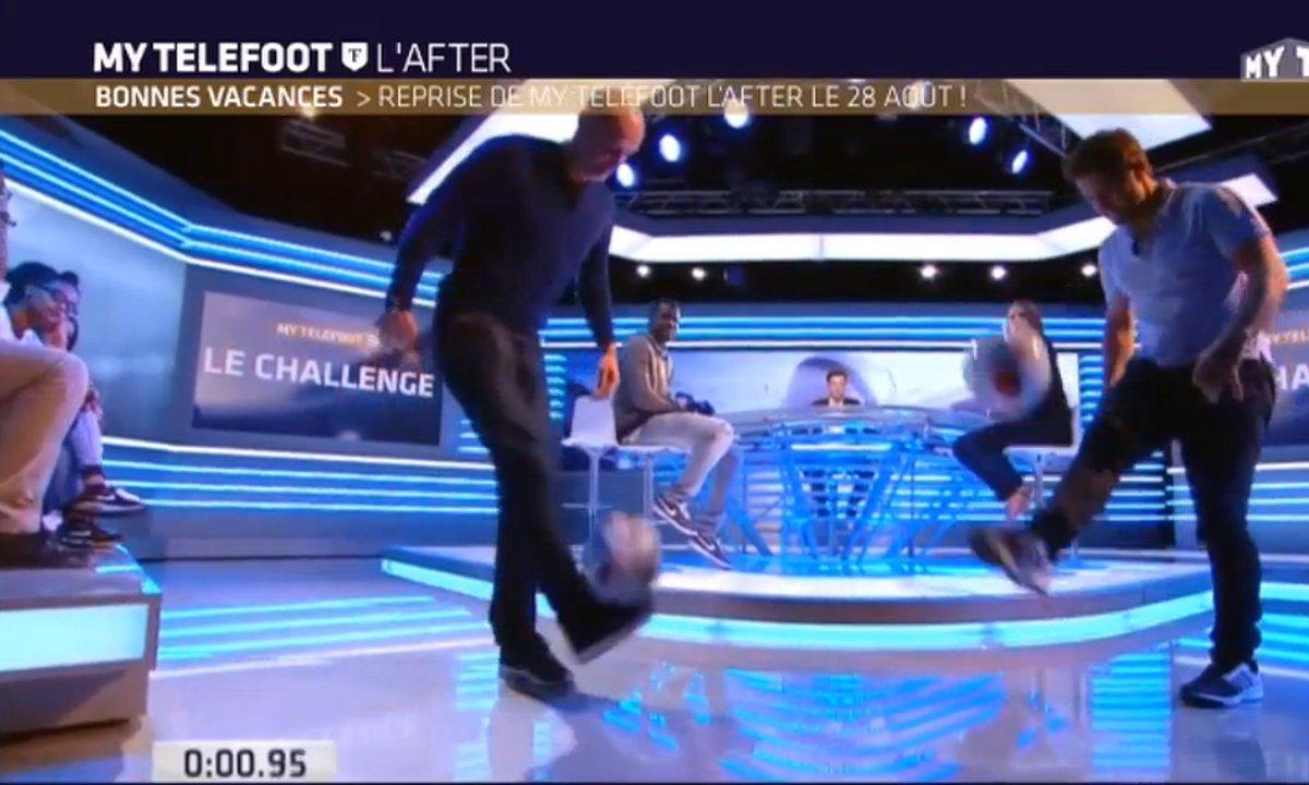 MyTELEFOOT L'After - Le challenge Téléfoot avec Lizarazu et Leboeuf
