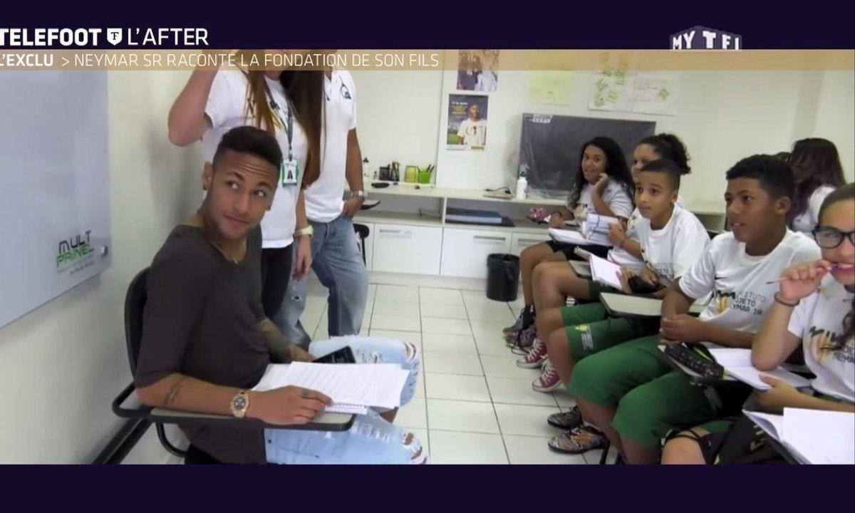 Téléfoot, l'After - Découvrez l'Institut Neymar au Brésil
