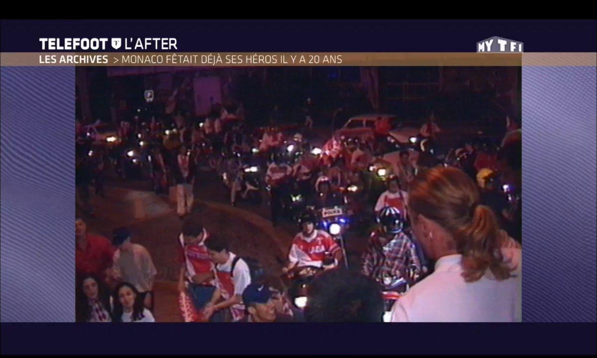 Téléfoot, l'After - Le dernier titre de Monaco, en 2000