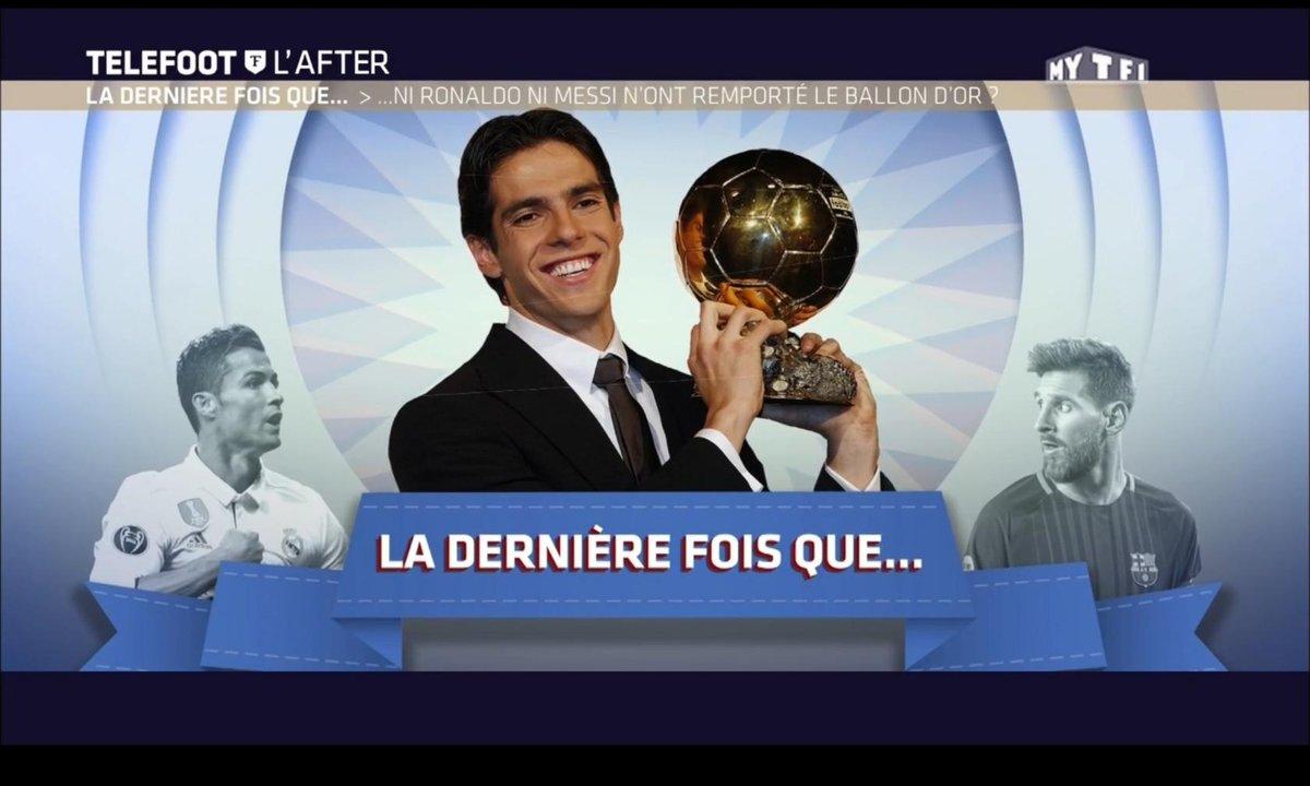 Téléfoot, l'After - La dernière fois que... ni Ronaldo ni Messi n'ont remporté le Ballon d'Or ?