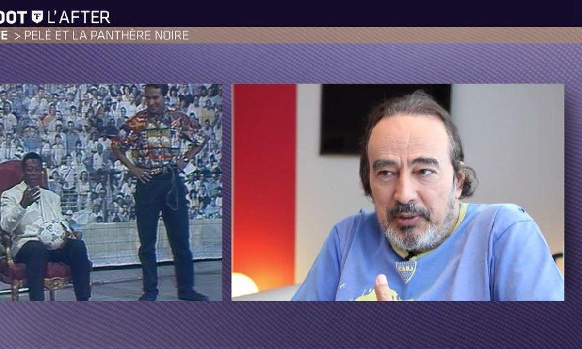 Téléfoot, l'After - Quand Didier Roustan recevait Pelé !