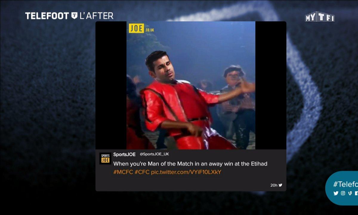 Téléfoot, l'After - Les tweets de la semaine : Diego Costa danse sur Twitter ?