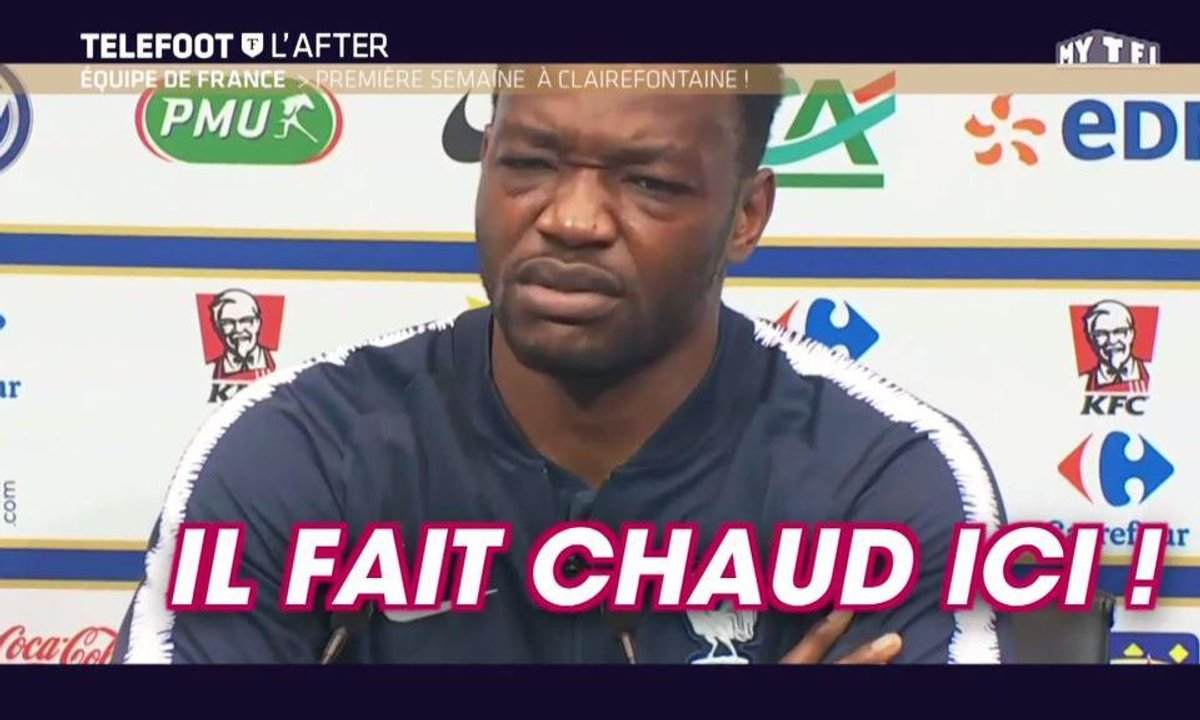 Téléfoot, l'After - Equipe de France : 1ère semaine à Clairefontaine