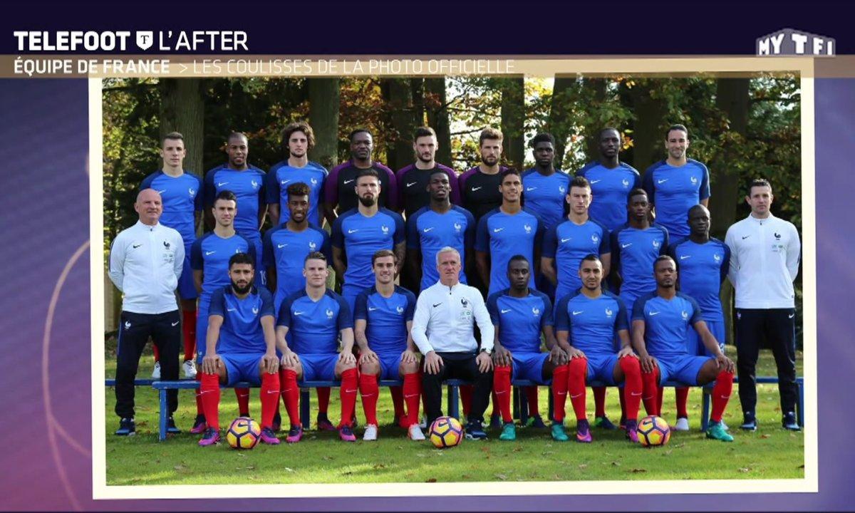 Téléfoot, l'After : Equipe de France - Les coulisses de la photo officielle