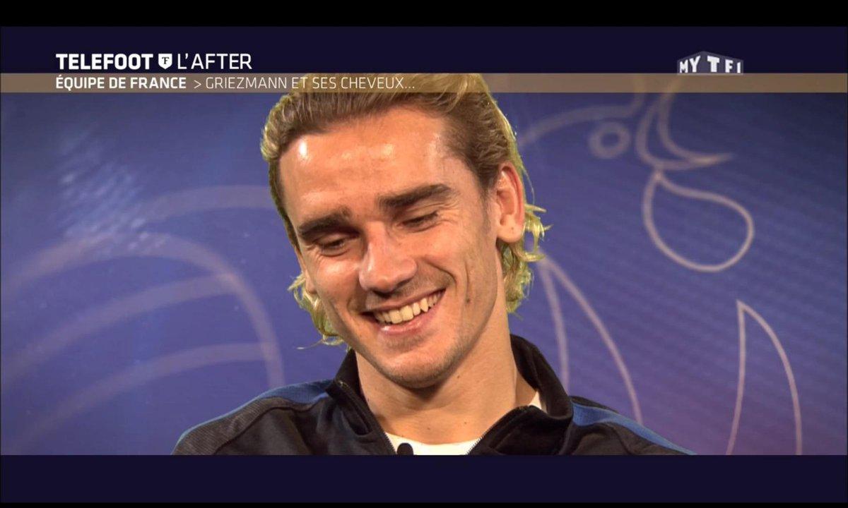 Téléfoot, l'After - Equipe de France : Griezmann et ses cheveux