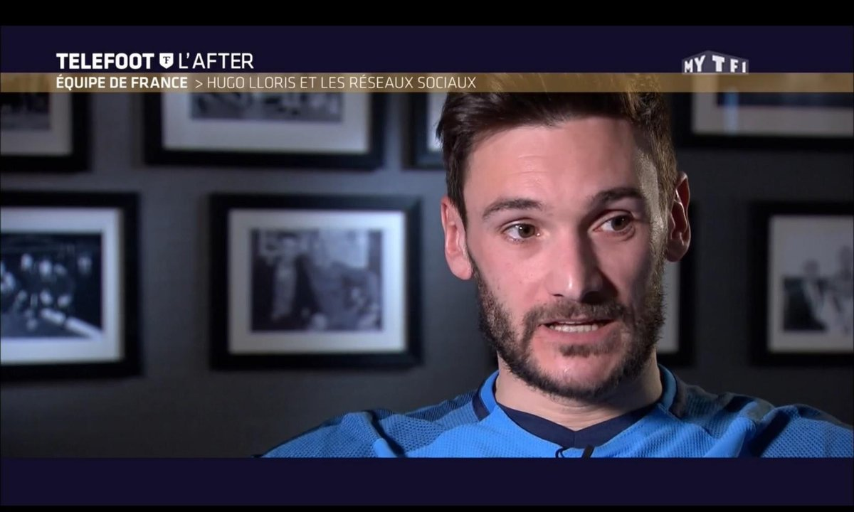 Téléfoot, l'After - Equipe de France : Hugo Lloris et les réseaux sociaux