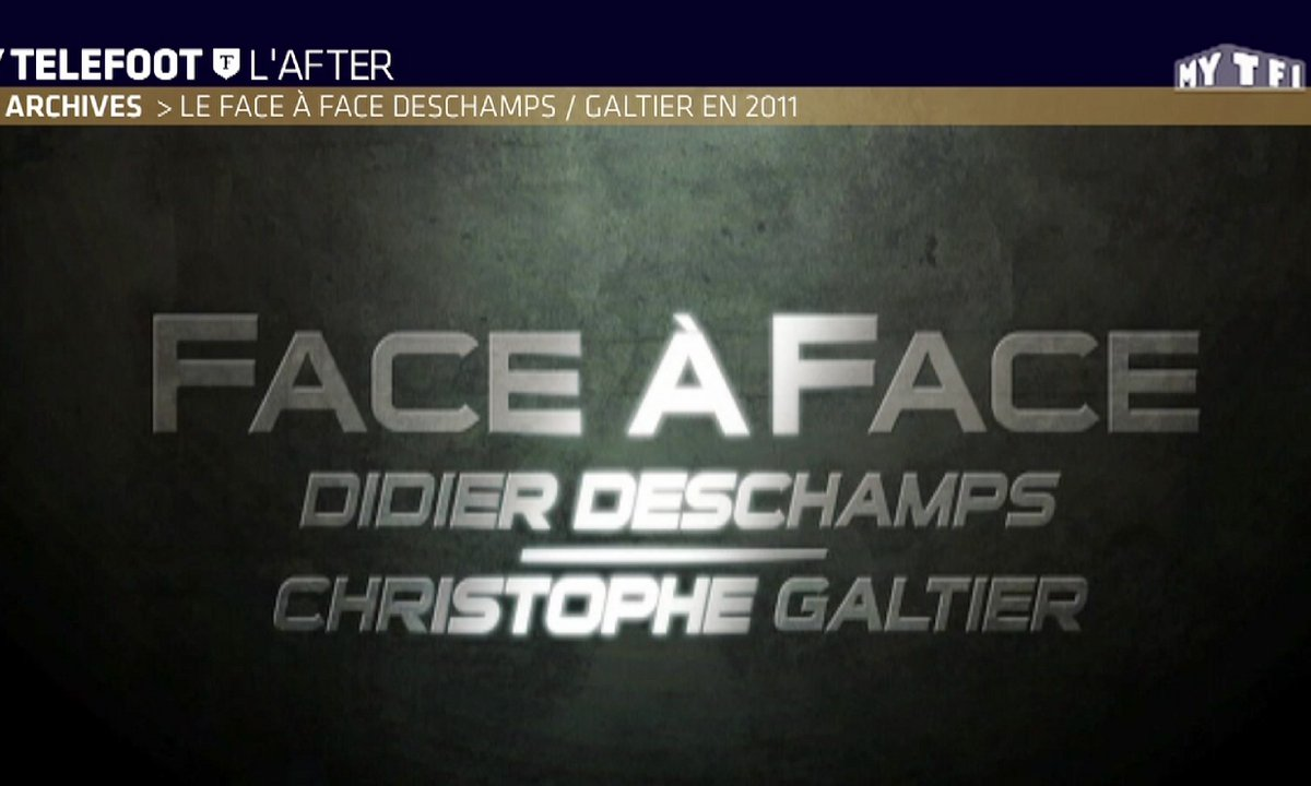 Les archives : le face à face Deschamps / Galtier en 2011