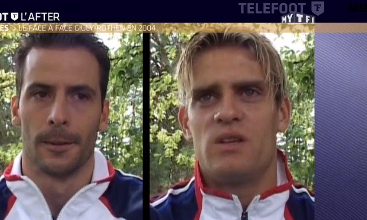 Téléfoot, l'After - Le face à face Rothen-Giuly de 2004