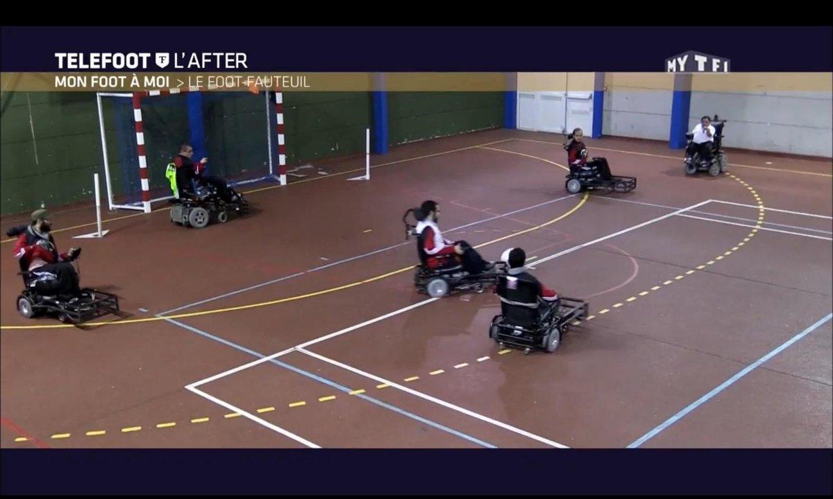 Téléfoot, l'After - Mon foot à moi : Le foot fauteuil