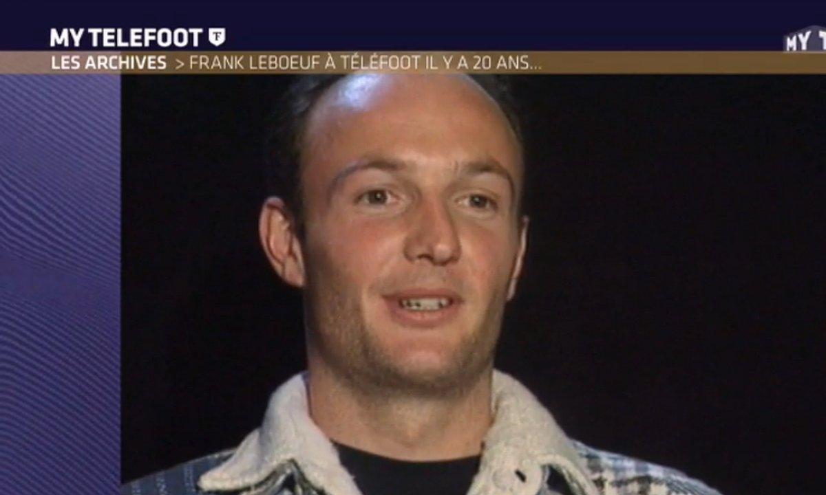 Frank Leboeuf chante dans les archives de Téléfoot !