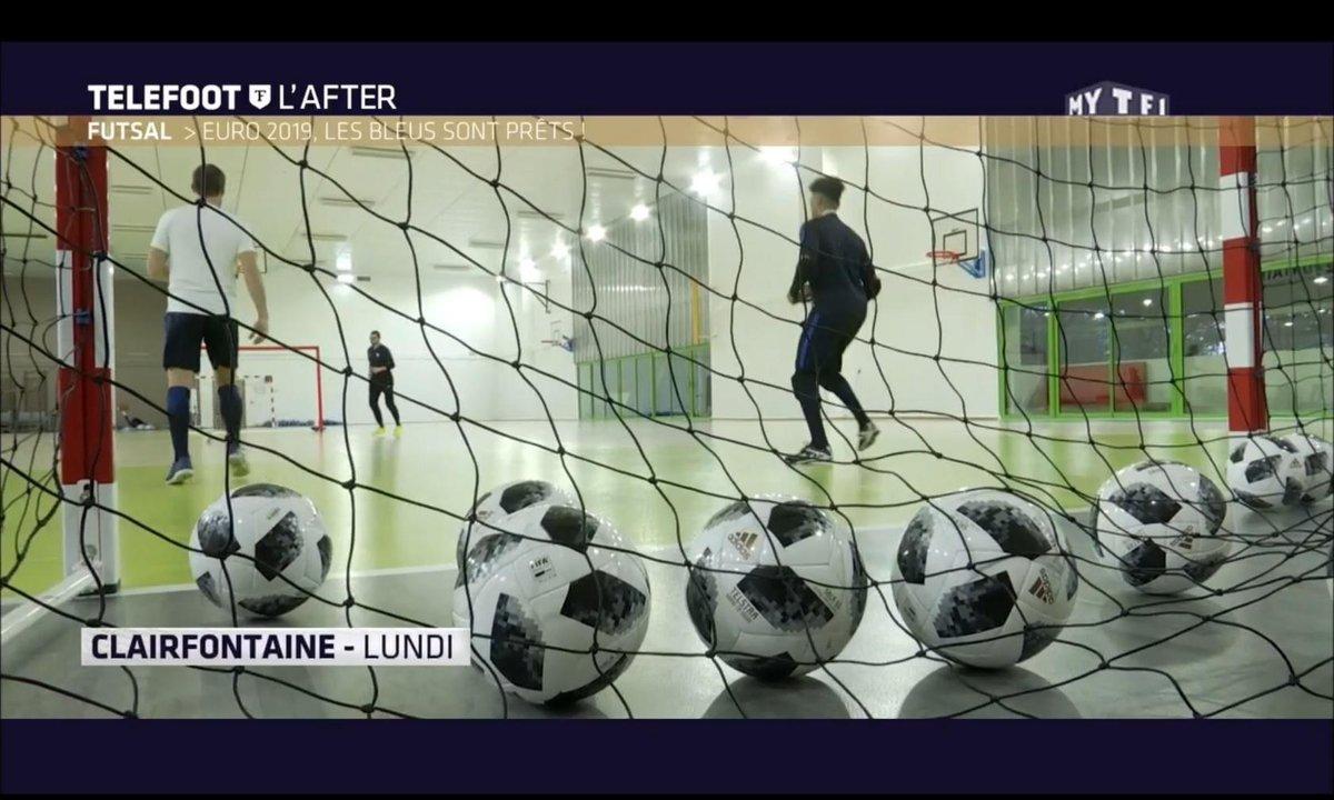 Téléfoot, l'After - Futsal - Euro 2018, les Bleus sont prêts !