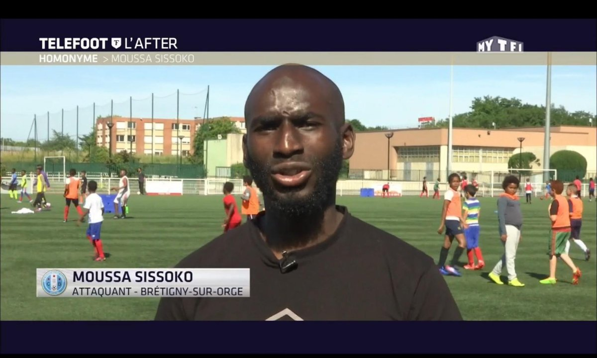 Téléfoot, l'After - Homonyme : Moussa Sissoko