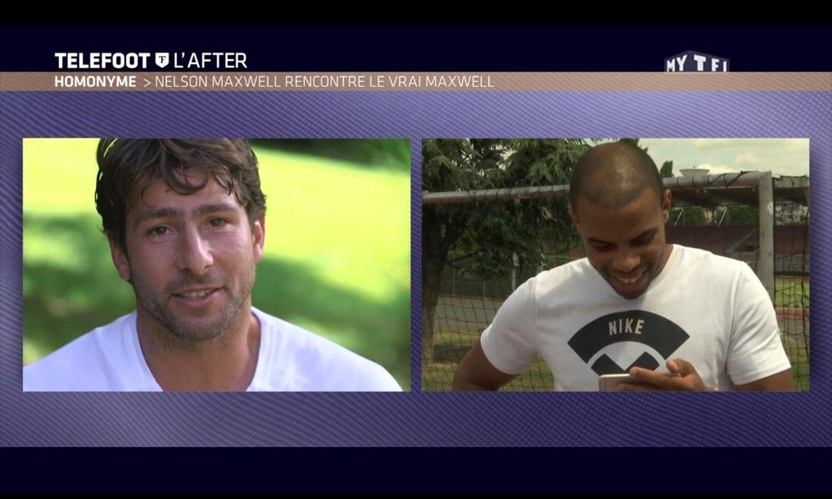 Téléfoot, l'After - Homonyme : Nelson Maxwell et Maxwell, épisode 2 !