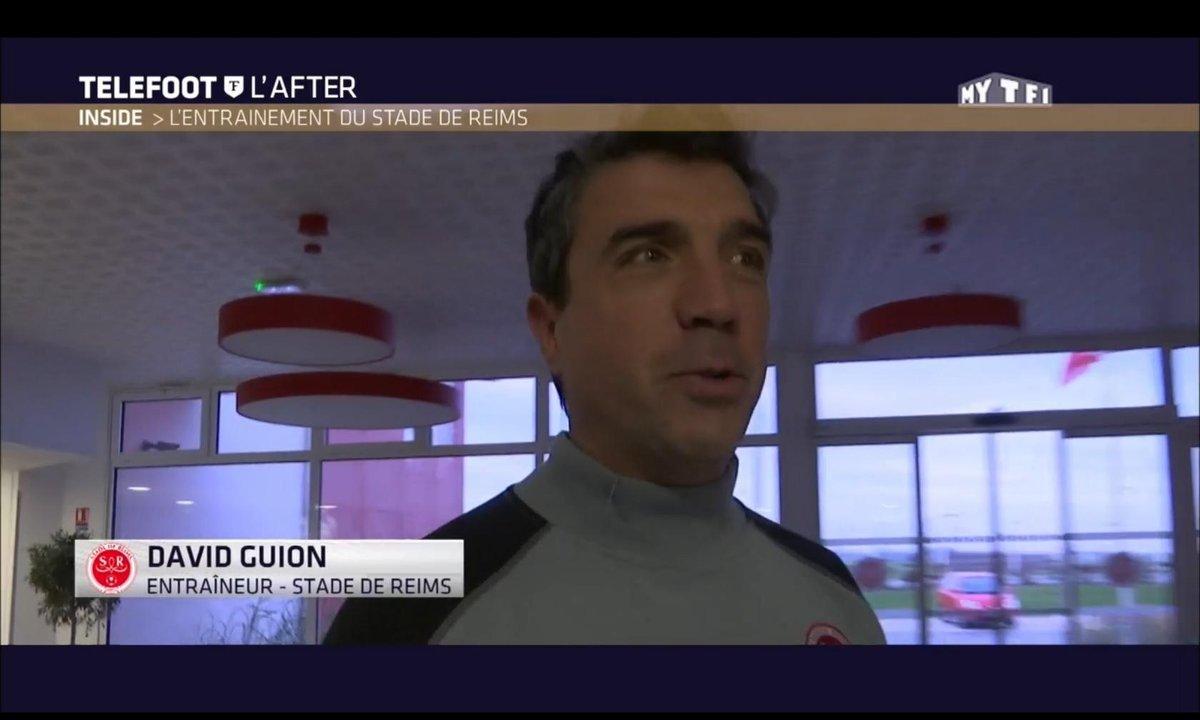 Téléfoot, l'After - Inside : L'entraînement du Stade de Reims