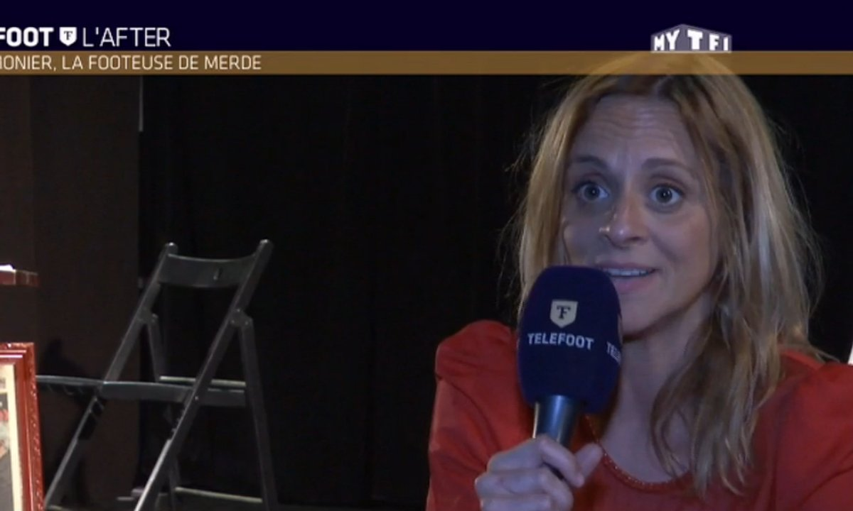 MyTELEFOOT L'After - Jezabel Lemonier, la footeuse de merde