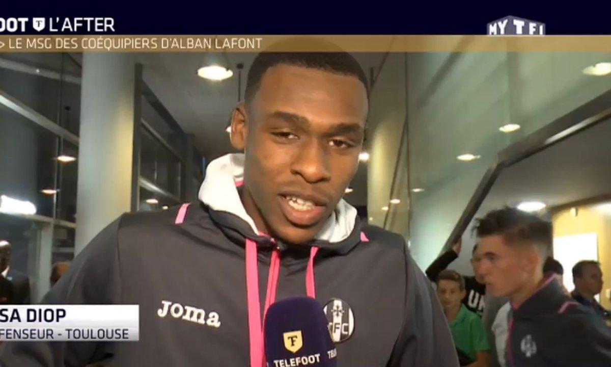 Téléfoot, l'After - Les joueurs de Toulouse rendent hommage à Alban Lafont