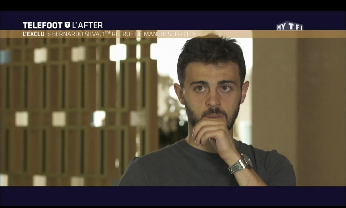 Téléfoot, l'After - L'exclu : Bernardo Silva, 1ère recrue de Manchester City