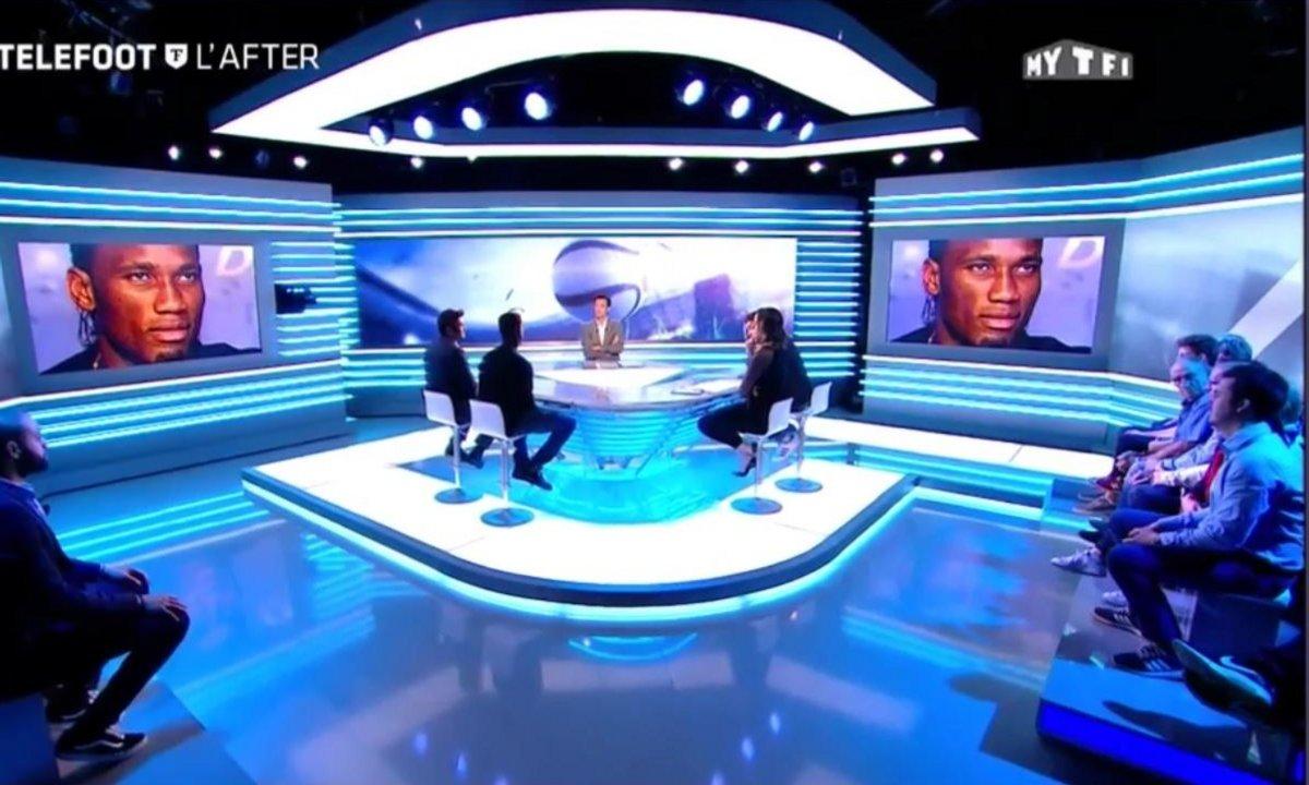 Téléfoot, l'After - L'hommage de Nicolas Pépé à Didier Drogba