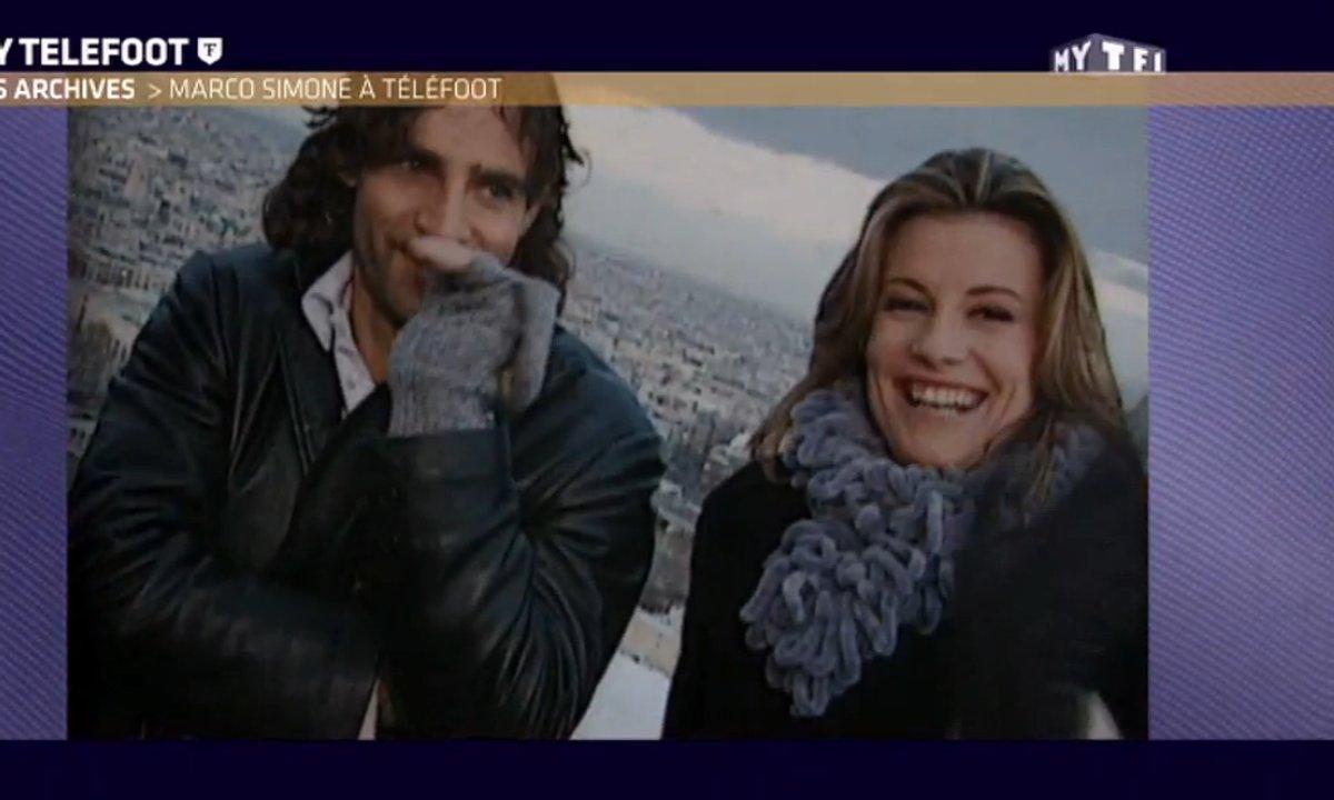 Les archives de Téléfoot : L'interview hallucinante de Sophie Thalmann à Marco Simone