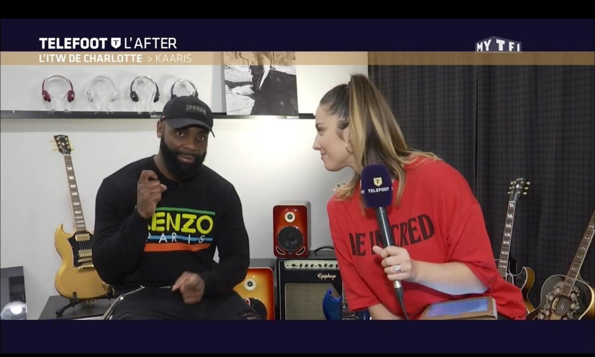Téléfoot, l'After - L'ITW de Charlotte : Kaaris