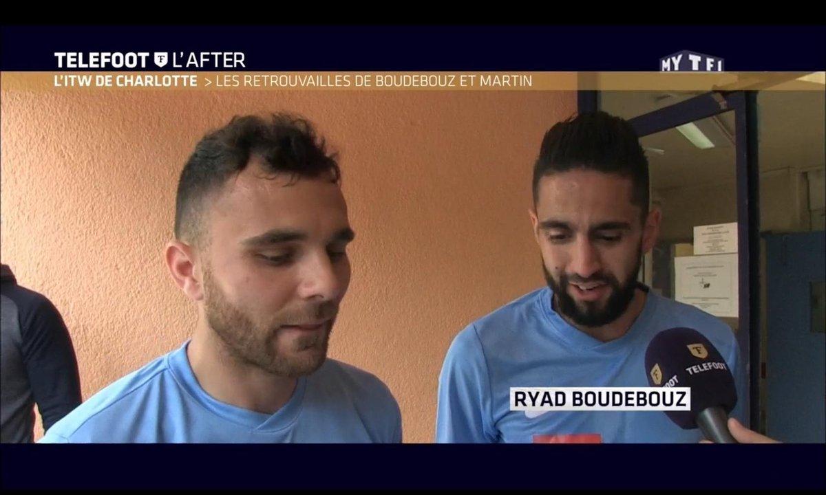 Téléfoot, l'After - L'ITW de Charlotte : Rencontre avec Marvin Martin et Ryad Boudebouz