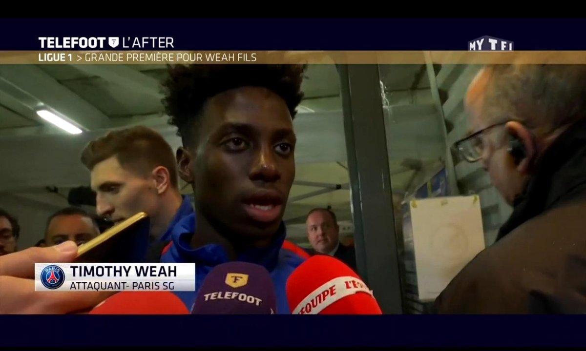 Téléfoot, l'After - Ligue 1, grande première pour Weah fils