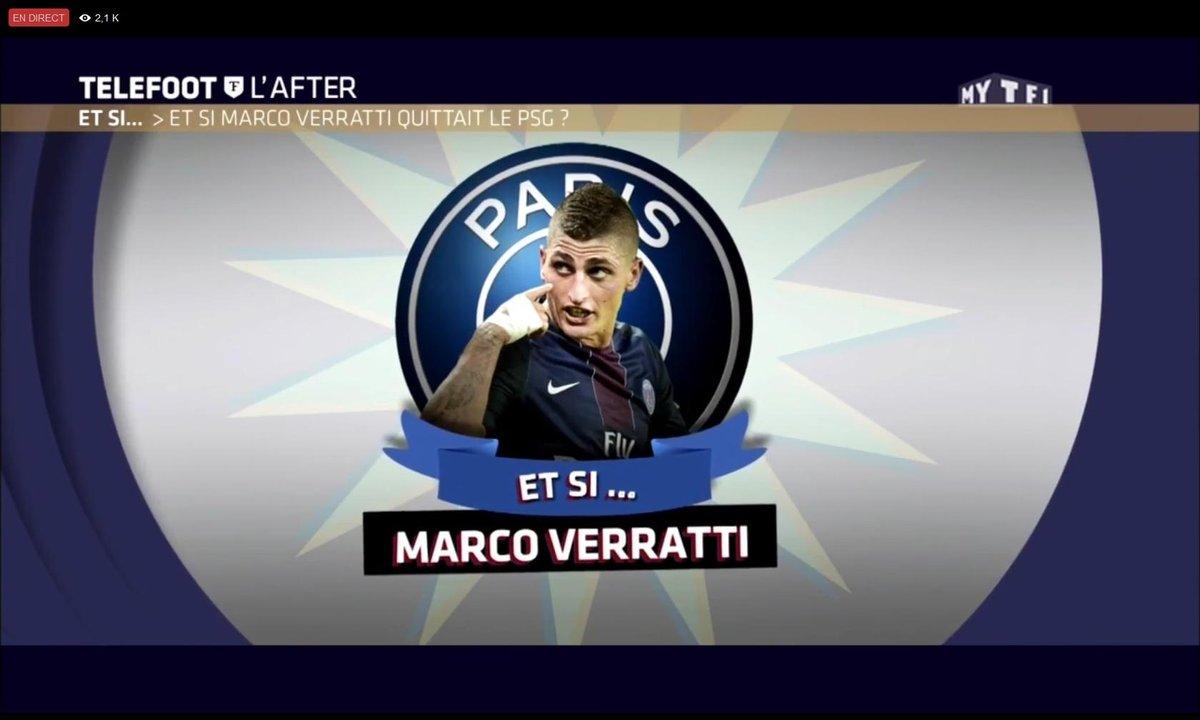 Téléfoot, l'After : Et si… Marco Verratti quittait le PSG ?