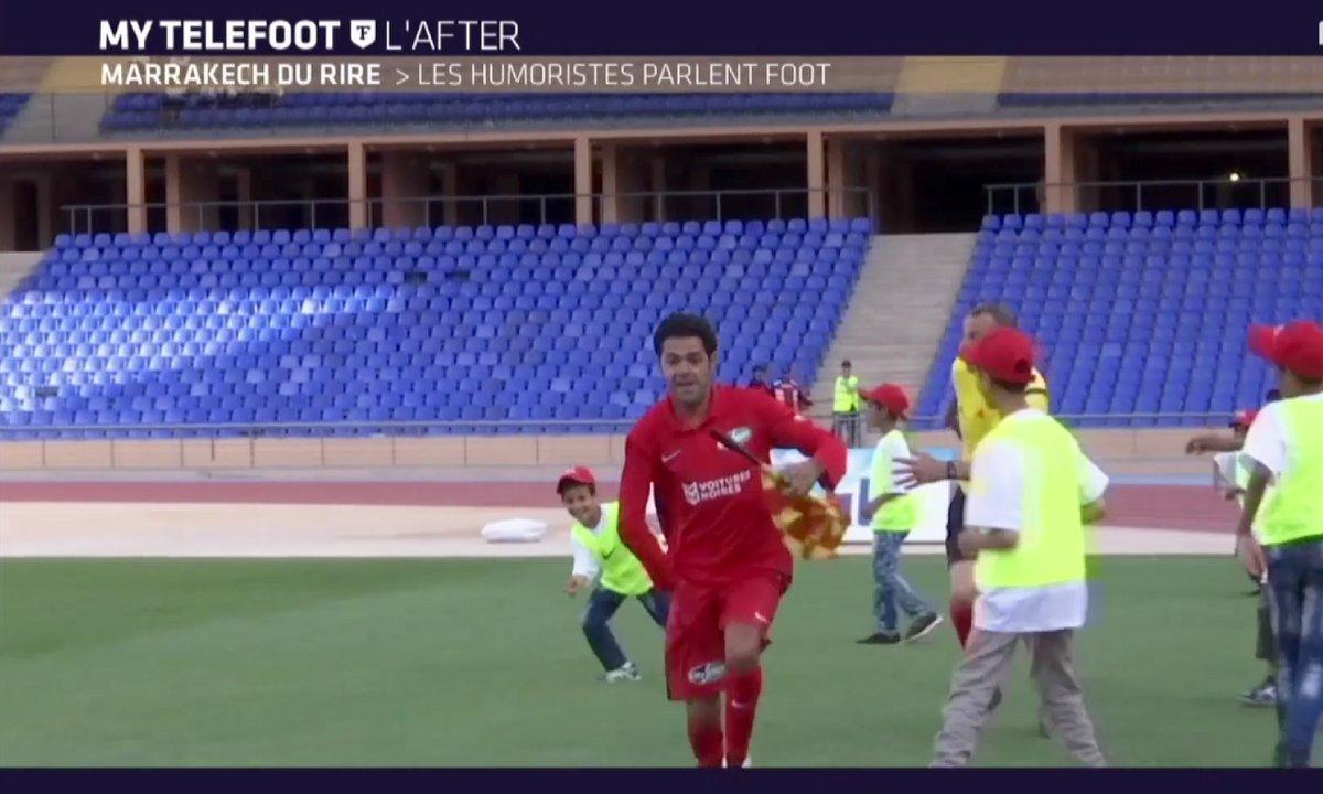 MyTELEFOOT L'After - Marrakech du rire : les humoristes parlent foot