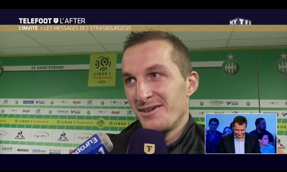 Téléfoot, l'After - Le message des joueurs du RC Strasbourg à Marc Keller