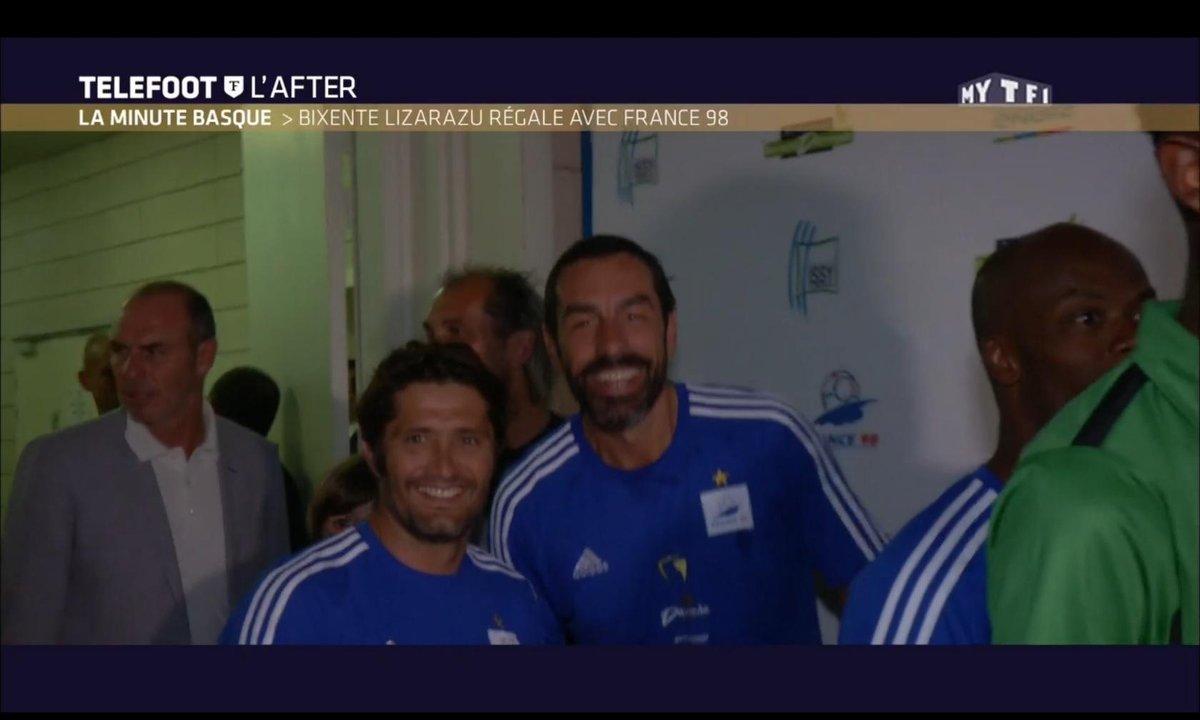 Téléfoot, l'After - La Minute basque : Bixente Lizarazu régale avec France 98