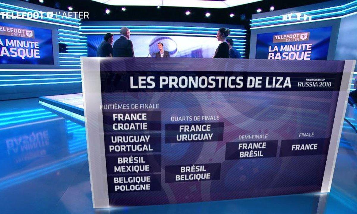 Téléfoot, l'After - La minute basque: Les favoris du Mondial et les pronostics !