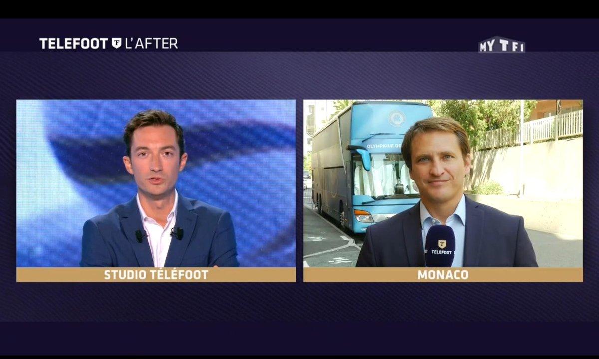 Téléfoot, l'After - Monaco-Marseille, le duplex de Christophe Abel
