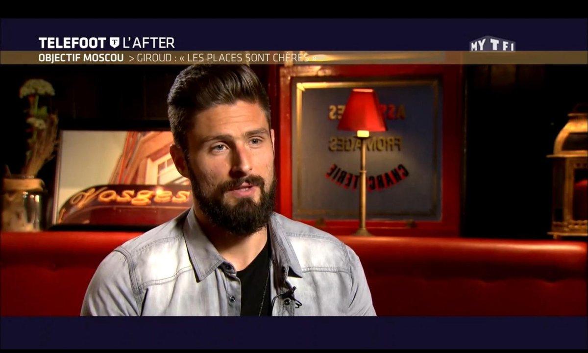 """Objectif Moscou - Giroud : """"Les places sont chères"""""""