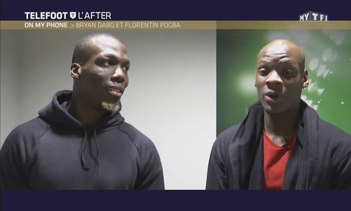 Téléfoot, l'After - On my phone : Florentin Pogba et Bryan Dabo