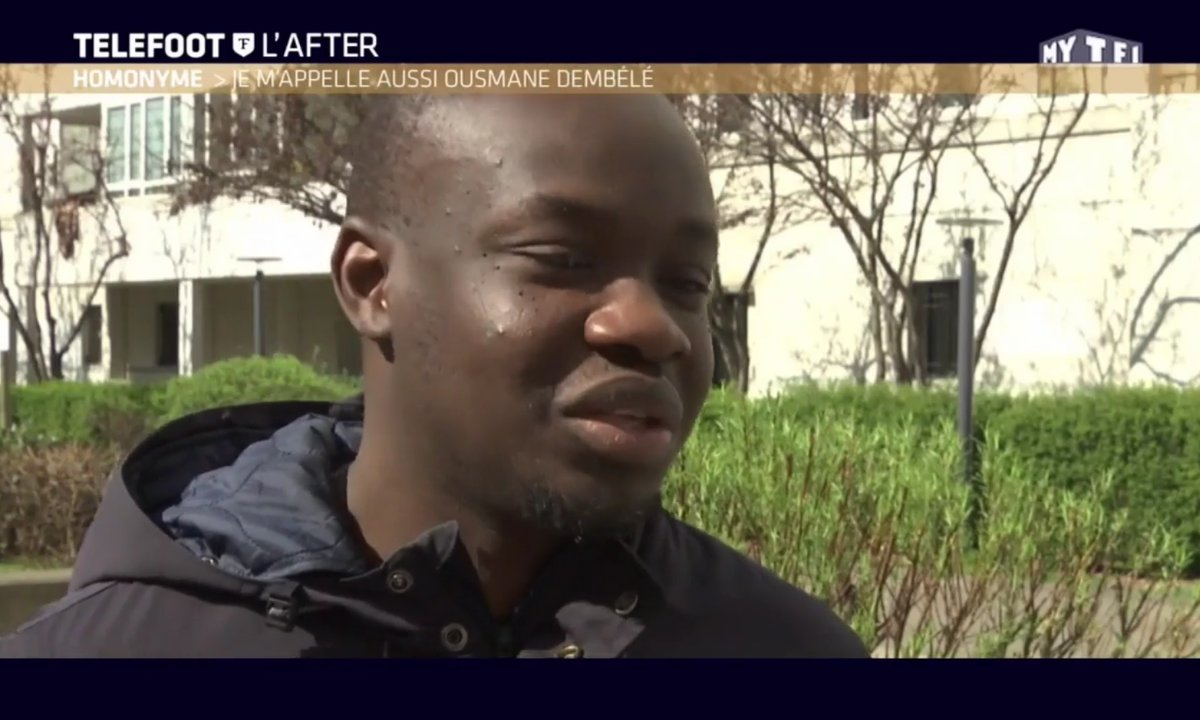 Téléfoot, l'After –  Ousmane Dembélé, l'homonyme du joueur de Dortmund